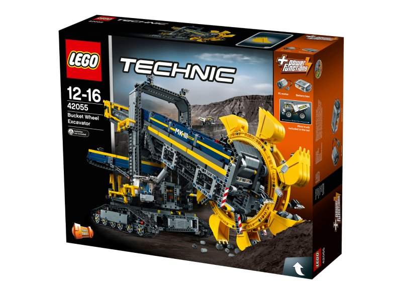 schaufelradbagger lego technic lego 42055. Black Bedroom Furniture Sets. Home Design Ideas