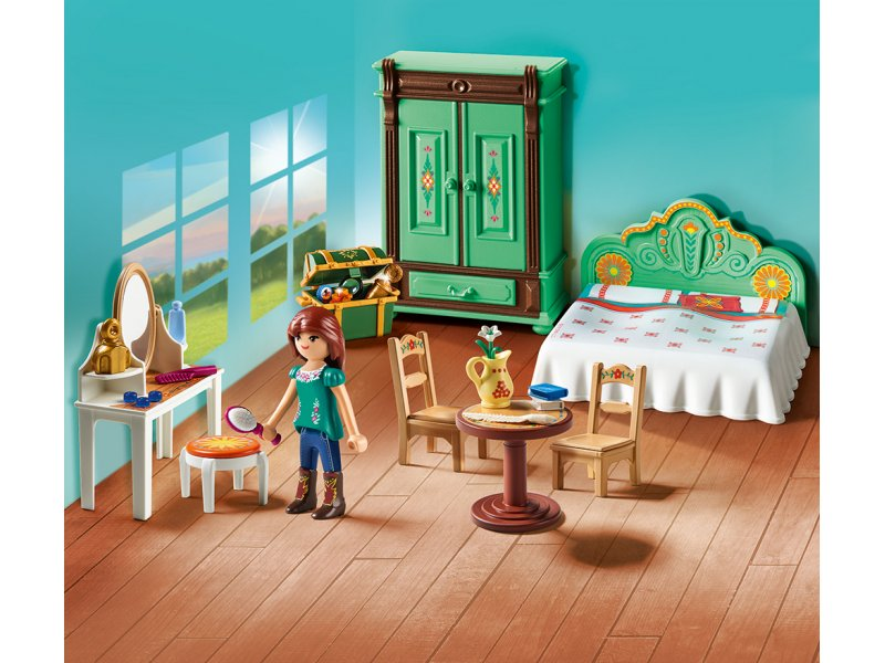Luckys Schlafzimmer Spirit Riding Free PLAYMOBIL 9476